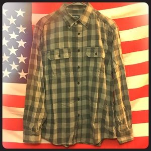 Faded Glory Men's Button Up Shirt M